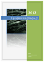 C programing language 5.0 صورة كتاب