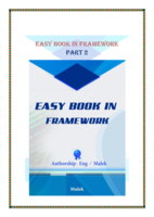 Easy Book In FrameWork Part2 صورة كتاب