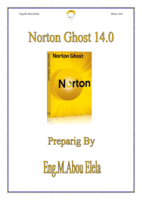 NORTON GHOST 14.0 صورة كتاب