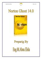 NORTON GHOST 14.0 صورة كتاب