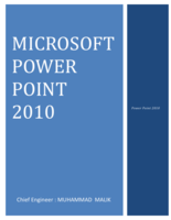 MICROSOFT POWER POINT 2010 صورة كتاب