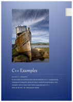 C++ أمثلة صورة كتاب