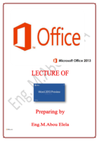 OFFICE WORD 365 NEW 2013 صورة كتاب