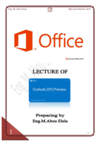 OUTLOOK 365 NEW 2013 صورة كتاب