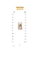 Cardinal Numbers & Ordinal Numbers صورة كتاب