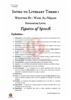 Figures of speech صورة كتاب