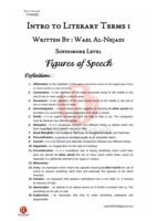 Figures of speech صورة كتاب