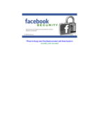 حماية حساب فيسبوك صورة كتاب