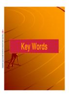 key words  مفتاح الكلمات صورة كتاب
