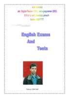 مجموعة اختبارات للغة الإنجليزية صورة كتاب
