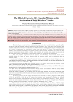 The Effect of Excessive Oil – Gasoline Mixture on the Acceleration of Bajaj Rickshaw Vehicles صورة كتاب