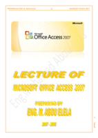 شرح Access 2007 صورة كتاب