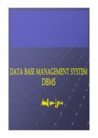 ادارة انظمة قواعد البيانات  صورة كتاب