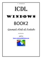 ويندوز ICDL صورة كتاب