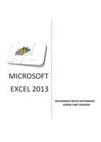 MICROSOFT EXCEL  2013 صورة كتاب