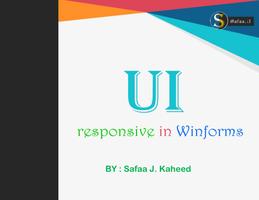التصميم المتجاوب Responsive Winforms صورة كتاب