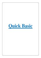 Quick Basic صورة كتاب