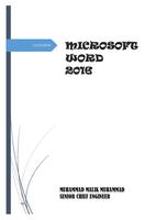 MICROSOFT WORD 2016 صورة كتاب