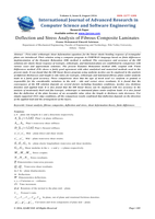 Deflection and Stress Analysis of Fibrous Composite Laminatesصورة كتاب