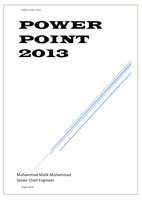 MICROSOFT POWER POINT 2013 صورة كتاب
